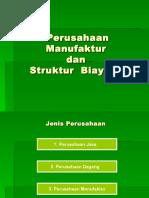Bab-2 [Perusahaan Manufaktur Dan Struktur Biayanya]