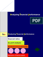 FM-analysing financial performance