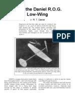 Daniel ROG - a Free-Flight Model Airplane