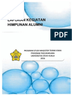 Laporan Kegiatan Alumni 2016