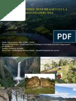 Sindrome Febril Hemorragico en La Amazonia  2015