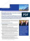 Mergers Alliance Renewable Energy