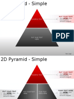 2d Pyramid Simple Powerpoint Presentation Slides 2