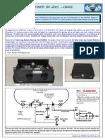 QRP Magnetic Loop Tuner 80-20m
