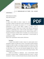 AUSÊNCIA PATERNA E APRENDIZAGEM DO FILHO