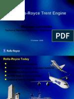 Aircraft Engine Rools-Royce