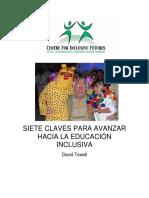 Siete Claves para la Educación Inclusiva