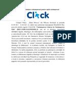 Articol 2 CLICK CLICK - Alfabetizare contemporană pentru copiii contemporani