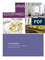 Restaurante Gourtmed Brochoure