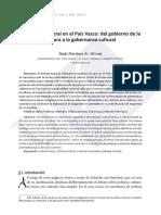 La política cultural en el País Vasco