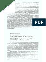 Lazarevo oslobadjanje - Milica Milenkovic