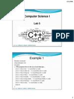 C   Lab 5