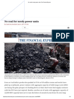 No Coal for Needy Power Units _ the Financial Express