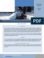 WHO Monthly Gaza Access Report-Jan2016 Final