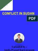 Conflict in Sudan