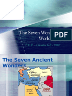 Seven Wonders Pp-study Guide