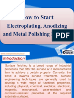 How to Start Electroplating, Anodizing and Metal Polishing Business
