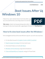 Fix Slow Boot Issues After Upgrading to Windows 10 _ Macecraft Software