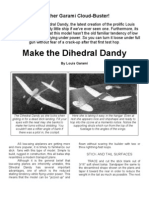 Dihedral Dandy - a Free-Flight Model Airplane