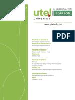 Papel de psicólogo en las organizaciones