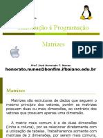 Introdução à Programação 08MATRIZZ