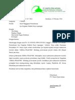 Surat Balasan KCA