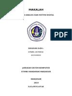 Makalah Sistem Analog Dan Digital