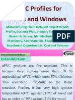 uPVC Profiles for Doors and Windows - Manufacturing Plant, Detailed Project Report, Profile, Business plan, Industry Trends, Market research, survey, Manufacturing Process, Machinery, Raw Materials, Feasibility study, Investment opportunities, Cost and Revenue