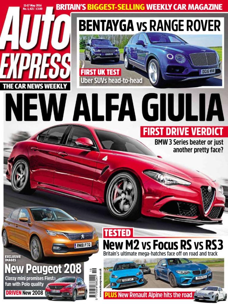 Auto Express May 11 2016 Uk Fuel Economy In Automobiles 2004range Rover 4000 V8 Fuse Box Diagram Autonomous Car