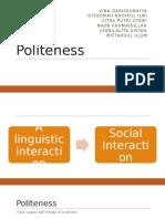 Presentation on Politeness