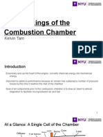 The Workings of the Combustion Chamber
