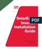 SolarEdge Single and Three Phase Inverter User Manual