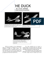 The Duck - a Free-Flight Model Airplane