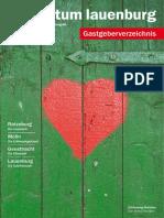 Gastgeberverzeichnis Herzogtum Lauenburg 2016