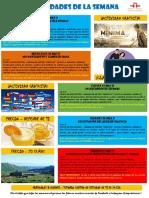 Actividades de la Escuela de Español 16 - 22 Mayo