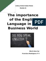 Importancia de Lingua Inglesa