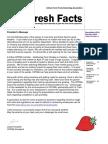 Fresh Facts May/June