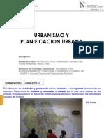 SEM 1Urbanismo y Planificacion Urbana