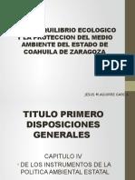 Ley de Equilibrio Ecologico y La Proteccion Del