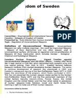 Kingdom of Sweden - DISEC - Regulation of Unconventional Weapons