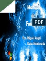Manual de Formateo