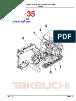 Parts Manual Tb135 Bg4z010