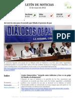 Boletín de noticias KLR 13MAY2016