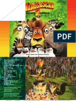 Digital Booklet - Madagascar  Escape