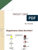 Target Obat