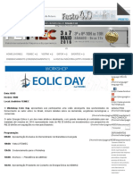 Energia Eólica No Brasil - Feimec 2016