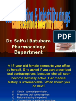 Contraception Infertility Drugs