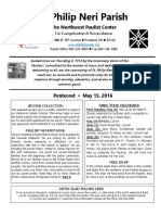 Bulletin for May 15 2016