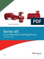 Bel & Gossett 60 ECM Inline Pumps