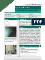MeasurIT Flexim ADM7407 Application Hydro Power Plant 0906